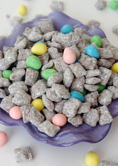 Reese's Easter Egg Puppy Chow - Life Love and Sugar