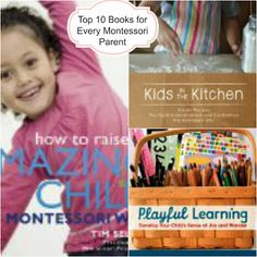 The Montessori on a Budget blog: Montessori books for beginners to Advanced