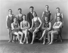 McGill swimming team, Montreal, QC, 1920 by Musée McCord Museum, via Flickr