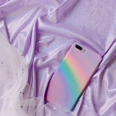 pastel rainbow iphone case, soft grunge, palegrunge, grunge, aesthetic Violet Aesthetic, Lavender Aesthetic, Rainbow Aesthetic, Aesthetic Colors, Aesthetic Photo, Aesthetic Girl, Aesthetic Pictures, Grunge Style, Soft Grunge