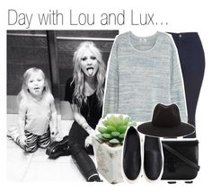 """Day with Lou and Lux..."" by nika-brel ❤ liked on Polyvore featuring Mode, Topshop, Acne Studios, rag & bone, LUX, loutisdale und 463"