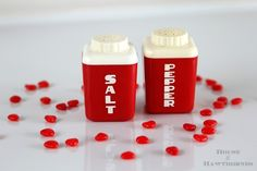 Red Salt & Pepper Shakers - House of Hawthornes