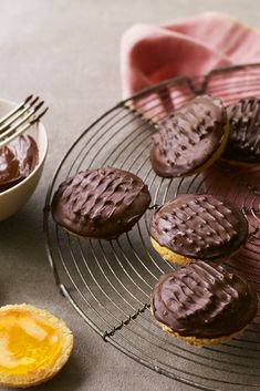 Give Mary Berry's jaffa cakes from Great British Bake Off a whirl.