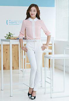 Nova chegada 2016 Outono Peter pan colarinho chiffon blusa, manga longa Rendas de Croché das mulheres top blusas, rosa das mulheres blusas camisas em Blusas de Moda e Acessórios no AliExpress.com | Alibaba Group