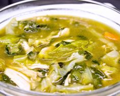 Perfect Post-Detox Chicken Soup Paola Petrella, chalkboardmag: You can also freeze the soup in portions to serve anytime you need a healthy bowl of unprocessed, immunity-boosting soup. #Soup #Chicken #Detox