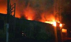 Ekpo Esito Blog: Dozens feared dead in slipper factory fire in Phil...