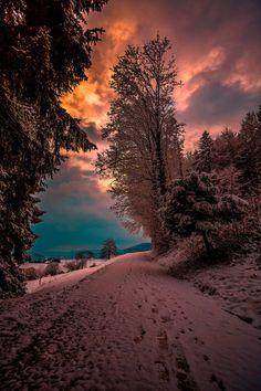 Photo journal of my interior landscape. Beautiful Sunset, Beautiful World, Beautiful Places, Beautiful Person, Winter Photography, Landscape Photography, Nature Photography, Nature Pictures, Cool Pictures