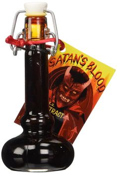 Satan's Blood Hot Sauce Delivers The Firey Inferno Of Hell Into Your Mouth & Out Your Ass -  #hell #hot #spicy
