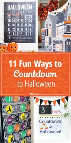 11 Fun Ways to Countdown to Halloween via @TipJunkie