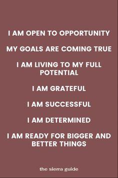 Job Hunting Affirmations #SUCCESS