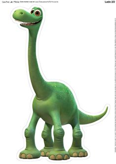 Uau! Veja o que temos para Totem de Mesa O Bom Dinossauro - Verso