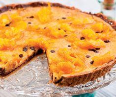 Tartă cu portocale şi ciocolată - Retete culinare - Romanesti si din Bucataria internationala Halloumi Burger, Kurtos Kalacs, Cobbler, Dory, Cheesecakes, Frappe, Deserts, Sweets, Nutella