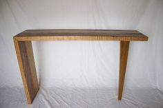 Reclaimed Messmate Hall table by TimberWolfDesign on Etsy
