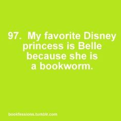 I am a Belle ~ she fell in love with his love of books, not his looks. Okay, maybe it was his library. ;)