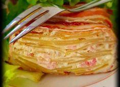 Cake de pommes de terre à la crème de camembert - Recette Plat - Recette Cuisine Facile Flan, Entrees, Tapas, Cabbage, Pizza, Vegetables, Boursin, Diners, Cake Pommes