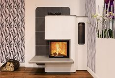 Kamineinsatz Spartherm Varia 2RL-55h Heating Furnace, Stove, Home Appliances, Wood, Home Decor, Modern Fireplaces, Trendy Tree, Log Fires, Room Interior Design