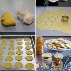 Chilean alfajores are traditionally fill with dulce de leche. The recipe for the dough is a family heirloom, my great aunt taught me how to do it, she was the person in charge of the famous Thousand Layer cake in our family. Alfajores are a must at Christmas, Easter and parties in general. They are offered during breakfast …