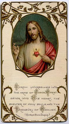 Throw Yourselves into the Arms of Jesus Christ, enter into His Heart, the shelter of holy souls, and the Treasury of Heaven