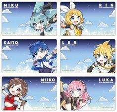 Olha a Luka plagiando a pose da Meiko Anime Chibi, Kawaii Chibi, Cute Chibi, Anime Manga, Anime Art, Vocaloid Ia, Miku Chan, Kagamine Rin And Len, Kaito