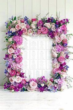 Beautiful table plan...