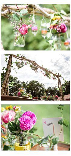 Rustikale Sommerhochzeit bei Kassel mit Konzept und Dekoration von im Hochzeitsfieber