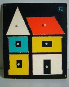 Puzzle Abbatt Toys, England, 1950