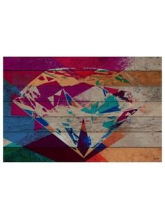 Diamond in the Rough by Jen Lee (Reclaimed Wood) by Marmont Hill at Gilt
