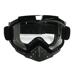 Motorcycle Goggles, Motocross Goggles Grip For Helmet, Dmeixs Windproof Dustproof Anti Fog Safety Glasses for ATV Off Road Racing with Cool Look Headwear, Clear Lens, 2 in 1. For product info go to:  https://www.caraccessoriesonlinemarket.com/motorcycle-goggles-motocross-goggles-grip-for-helmet-dmeixs-windproof-dustproof-anti-fog-safety-glasses-for-atv-off-road-racing-with-cool-look-headwear-clear-lens-2-in-1/