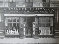 Antigua tienda en Pedro Montt