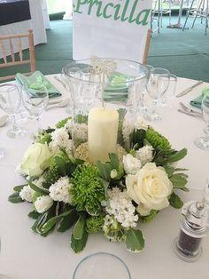 Acid Green and Cream Themed Wedding by jillian