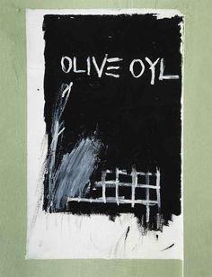 Jean-Michel Basquiat (1960-1988) Untitled (Olive Oyl)