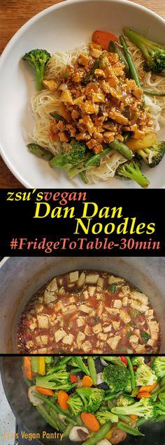Zsu's Vegan Pantry: dan dan noodles