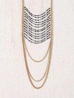 Free People - statement necklace.