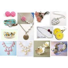 Etsy on Polyvore for Spring types