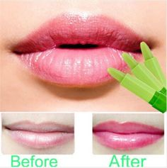 Hot Magic Colour Changing Batons Makeup Moisturizing Batom Amplified Creame Lipstick Rouge A Levers #Affiliate