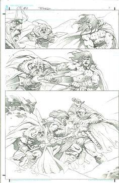 Conan the Cimmerian issue 0 page 5 by Tomas Giorello Comic Art