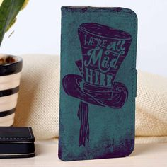 Alice in Wonderland   Disney   custom wallet case for iphone 4/4s 5 5s 5c 6 6plus case and samsung galaxy s3 s4 s5 s6 case - RSBLVD