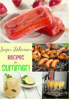 All the recipes you will need to make this the best summer ever…
