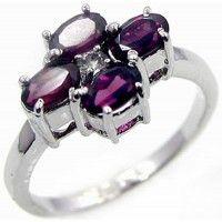 1.45ctw Genuine Garnet & Solid .925 Sterling Silver Gemstone Ring (SJR10203G). Buy Now: http://www.sterlingsilverjewelry.tv/genuine-garnet-925-sterling-silver-gemstone-ring-sjr10203g.html #SterlingSilverJewelry #silverrings #sterlingsilverrings #ringsilver #silverringdesigns #handmaderings #silverringssterling #Rings #RingsJewelry
