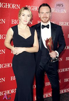 Michael Fassbender and Kate Winslet @PSIFFGALA