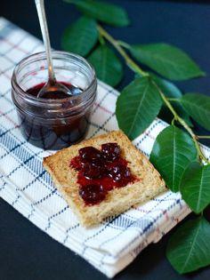 Sour Cherry Jam with Kirsch Recipe | One tomato, two tomato