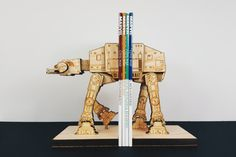 Star Wars Book Ends AT-AT StarWars Bookend by MokuShop on Etsy