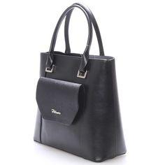 Nabízíme vám luxusní černou matnou kabelku Maggio z kolekce 2016. Kabelka je malá, pevná, uvnitř jsou menší kapsy na drobnosti. Na přední straně je kapsa na magnetický cvoček s klopou ve formě saffiano. Součástí kabelky je odnímatelný nastavitelný popruh, pro nošení přes rameno. S touto kabelkou si můžete vyjít na ples, recepci, či do divadla. Leather Backpack, Backpacks, Model, Bags, Handbags, Leather Book Bag, Leather Backpacks, Scale Model, Taschen