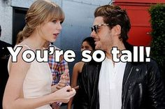 25 Things Tall Girls Are Tired Of Hearing - Warning: Language. But so, so true!! LOL