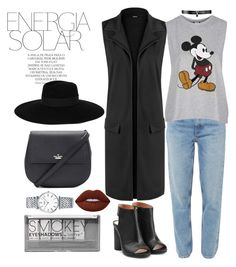"""Energia solar"" by amrinjo ❤ liked on Polyvore featuring WearAll, M.i.h Jeans, Topshop, Maison Margiela, Kate Spade, Fallon, Lime Crime, Boohoo, Longines and Magdalena"