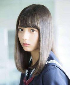 Proud of cute Japanese girls with meek eyes, angel's smile and graceful shyness. School Girl Japan, Japan Girl, School Uniform Girls, Asian Cute, Cute Asian Girls, Cute Girls, Japanese Beauty, Asian Beauty, Cute Japanese Girl