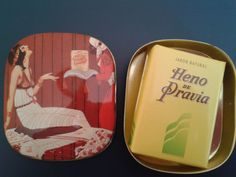 VINTAGE HENO DE PRAVIA SOAP TIN BOX GAL PERFUMERY SPAIN. 6 euros. fer_uy@yahoo.com http://www.milanuncios.com/pinturas/latita-heno-de-pravia-vintage-132144722.htm