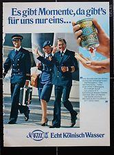 WB - Werbung Reklame 4711 27 - Kölnisch Wasser - 70er