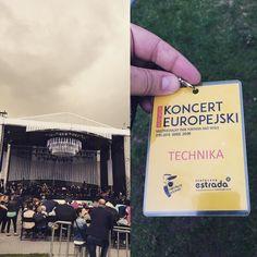 #koncerteuropejski #work #camera @stolecznaestrada