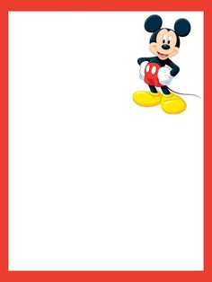 Mickey Mouse photo: 3x4inch journal card for Project life or traditional…